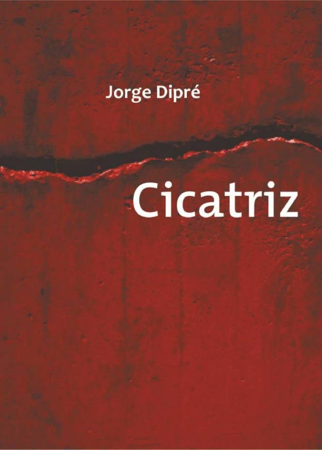 Portada de libro diseñada para el autor Jorge Dipré.