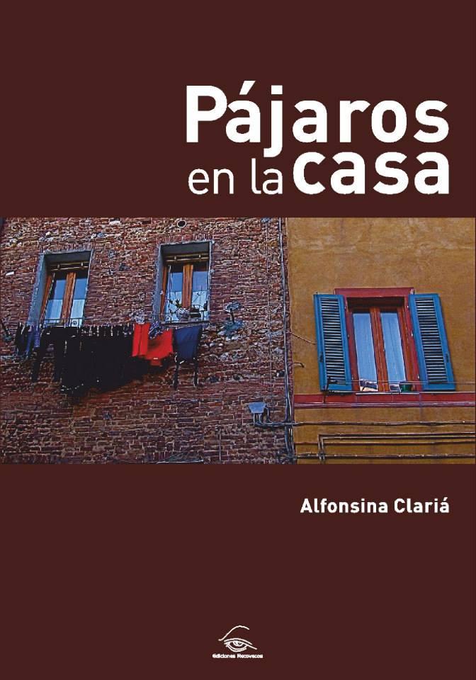 Portada de libro diseñada para la autora Alfonsina Clariá.