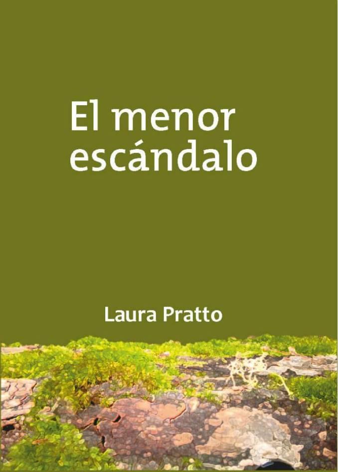 Portada de libro diseñada para la autora Laura Pratto.