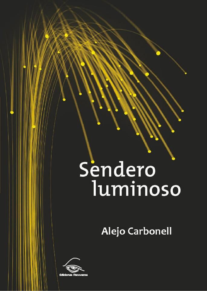 Portada de libro diseñada para el autor Alejo Carbonell.