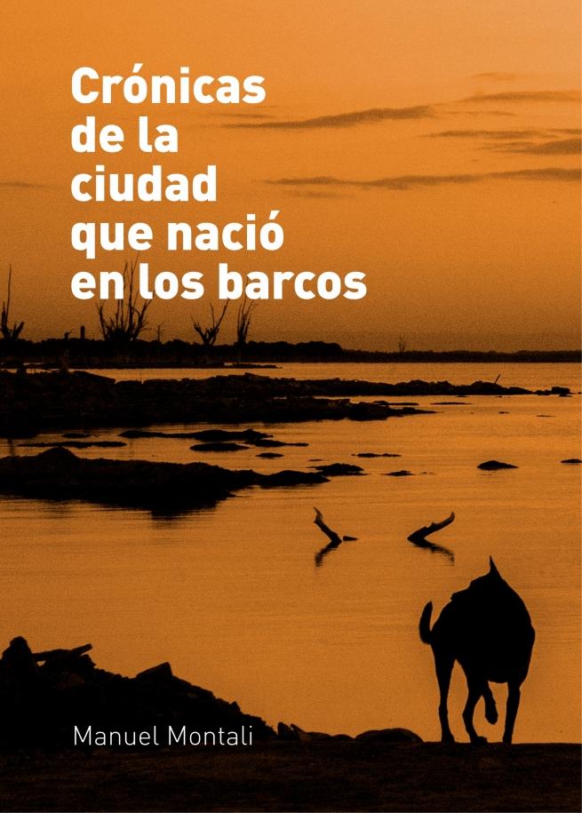 Tapa libro diseñada para el autor Javier Montali.